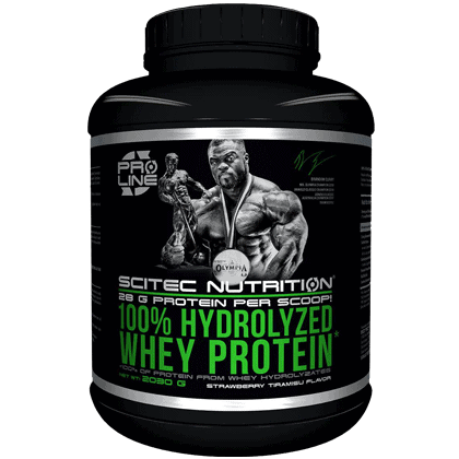 Scitec Nutrition 100% Hydrolyzed whey protein 2030 gramm
