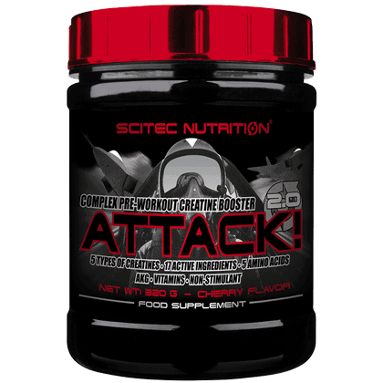Scitec Nutrition Attack 320 gramm
