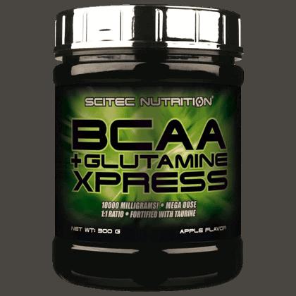 Scitec Nutrition Bcaa glutamine xpress 300 gramm