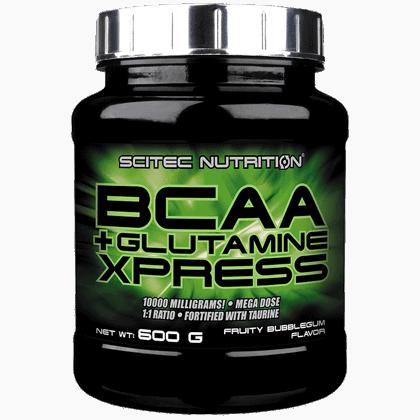 Scitec Nutrition Bcaa glutamine xpress 600 gramm