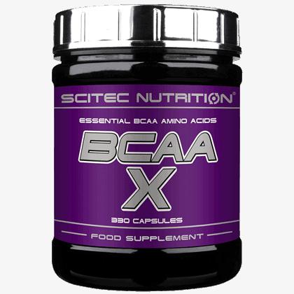 Scitec Nutrition Bcaa X 330 kapszula