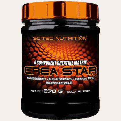 Scitec Nutrition Crea Star 270 gramm