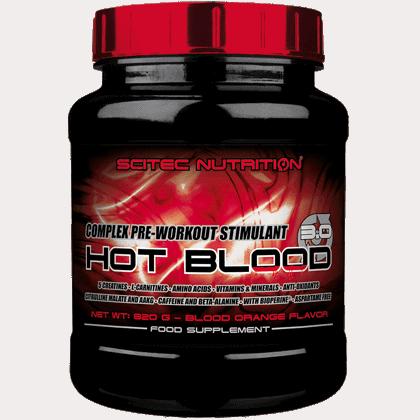 Scitec Nutrition Hot blood 3.0 820 gramm