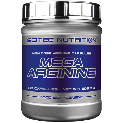 Scitec Nutrition Mega arginine 140 kapszula