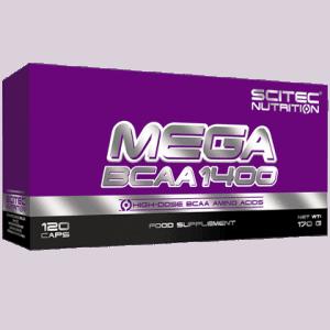 Mega BCAA 1400 120 kapszula