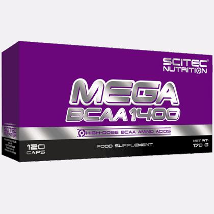 Scitec Nutrition Mega bcaa 120 kapszula