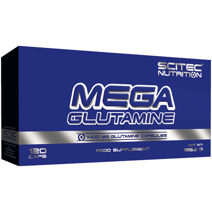 Scitec Nutrition Mega glutamine 120 kapszula