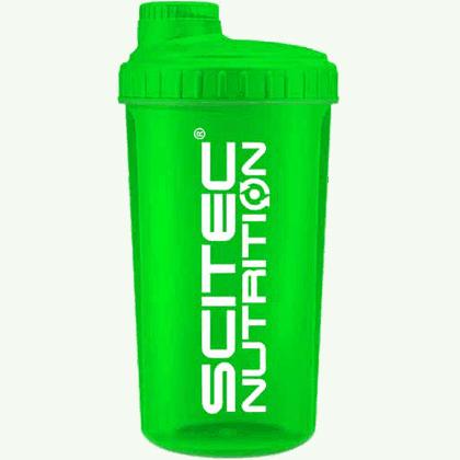 Scitec Nutrition neon shaker csavaros shaker 7dl zöld