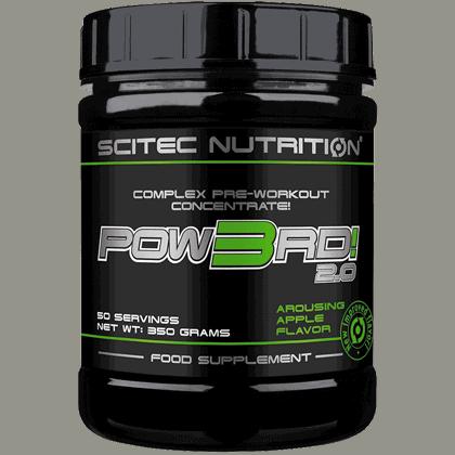 Scitec Nutrition Pow3rd 350 gramm