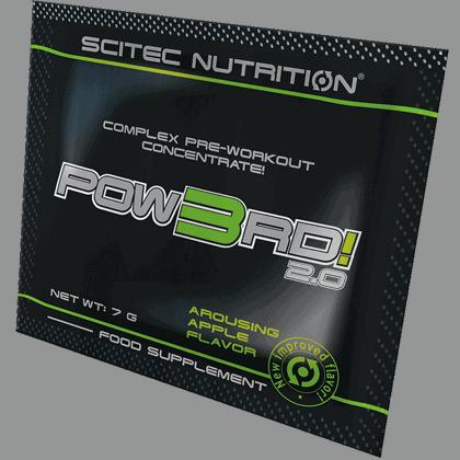 Scitec Nutrition Pow3rd tasakos