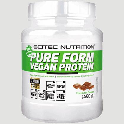 Scitec Nutrition Pure form vegan protein 450 gramm