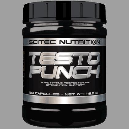 Scitec Nutrition Testo punch 120 kapszula