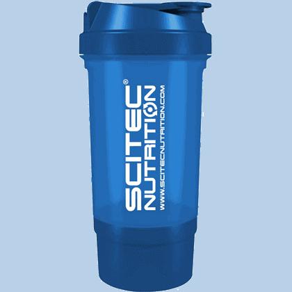 Scitec Nutrition Traveller shaker 0,5 liter kék
