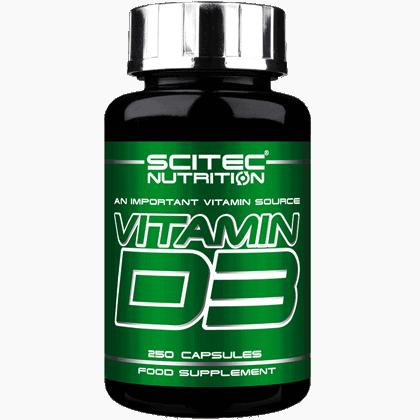 Scitec Nutrition Vitamin d3 250 kapszula