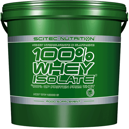 Scitec Nutrition Whey isolate 4000 gramm
