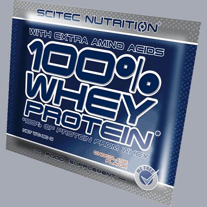 Scitec Nutrition Whey protein 1 tasak 30 gramm