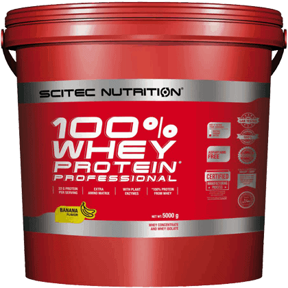 Scitec Nutrition Whey protein professional 5000 gramm