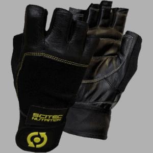 Yellow Leather Style edzőkesztyű