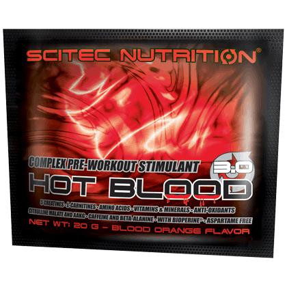 Scitec Hot Blood 1 tasak 20 gramm