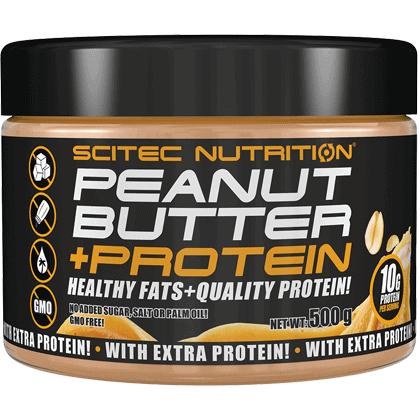 Peanut Butter + Protein 500 gramm (mogyoróvaj+fehérje)