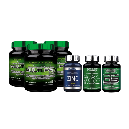 három havi vitamin csomag