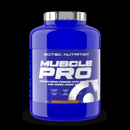 Muscle pro Scitec fehérje turmix